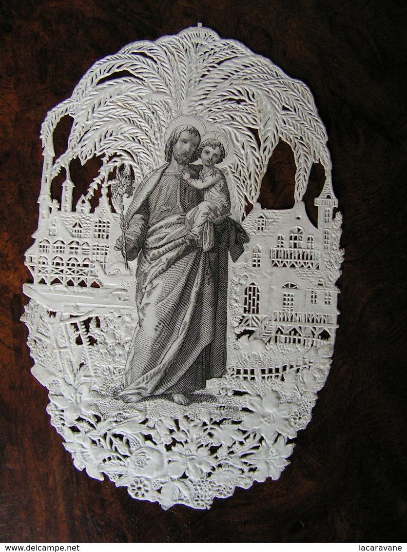 Holy Card Image Pieuse Canivet Saint Joseph  Ref 15 - Images Religieuses
