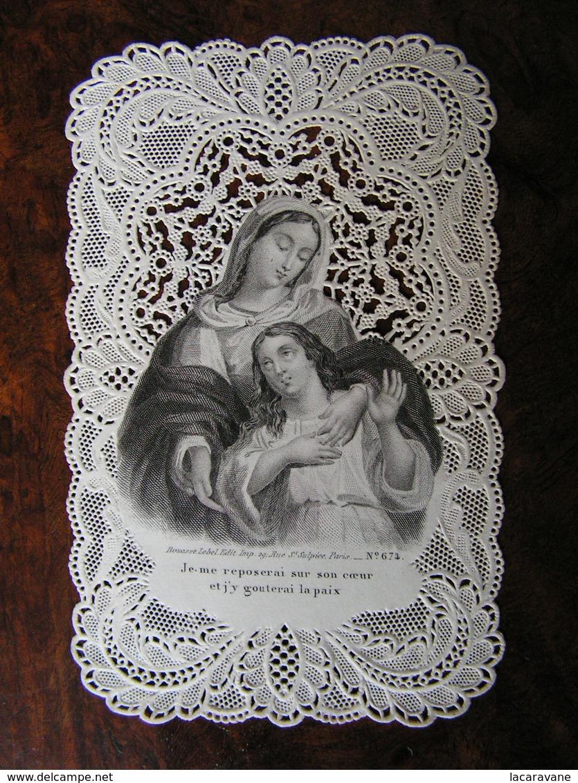 Holy Card Image Pieuse Canivet Bouasse Lebel 674  Ref 16 - Images Religieuses