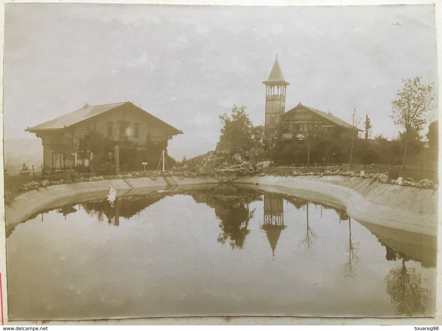 Citrate Vers 1900. Blosseville-Bonsecours. Funiculaire. Casino. Reflet. - Photos