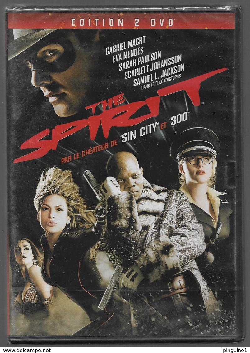 DVD The Spirit - Ciencia Ficción Y Fantasía