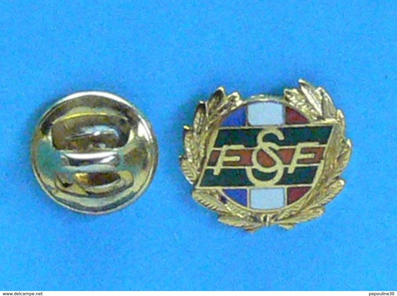 1 PIN'S // ** F S C F / INSIGNE DE L'HONNEUR FÉDÉRAL VERMEIL / FÉDÉRATION SPORTIVE & CULTURELLE FRANCE ** . (A B. Paris) - Pin