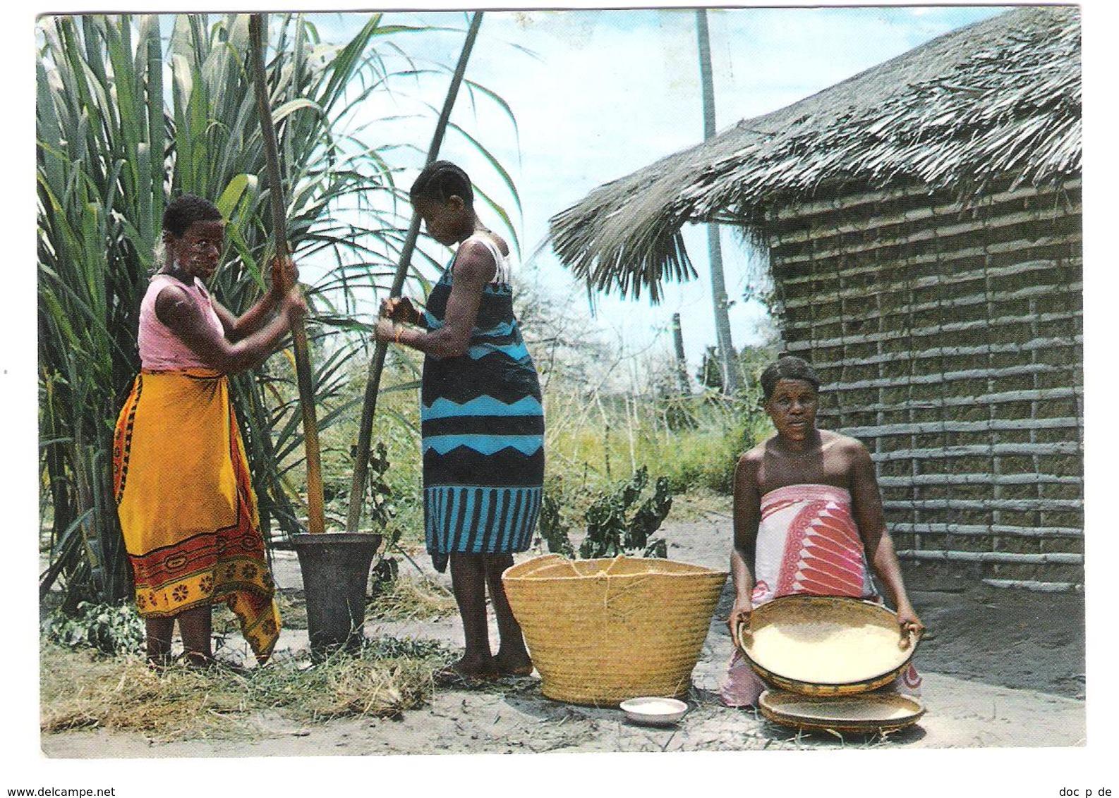 Tanzania - Dar Es Salaam - Makonde Women - Makonde Village - Nice Fish Stamp Stamps Timbre Timbres - Tansania