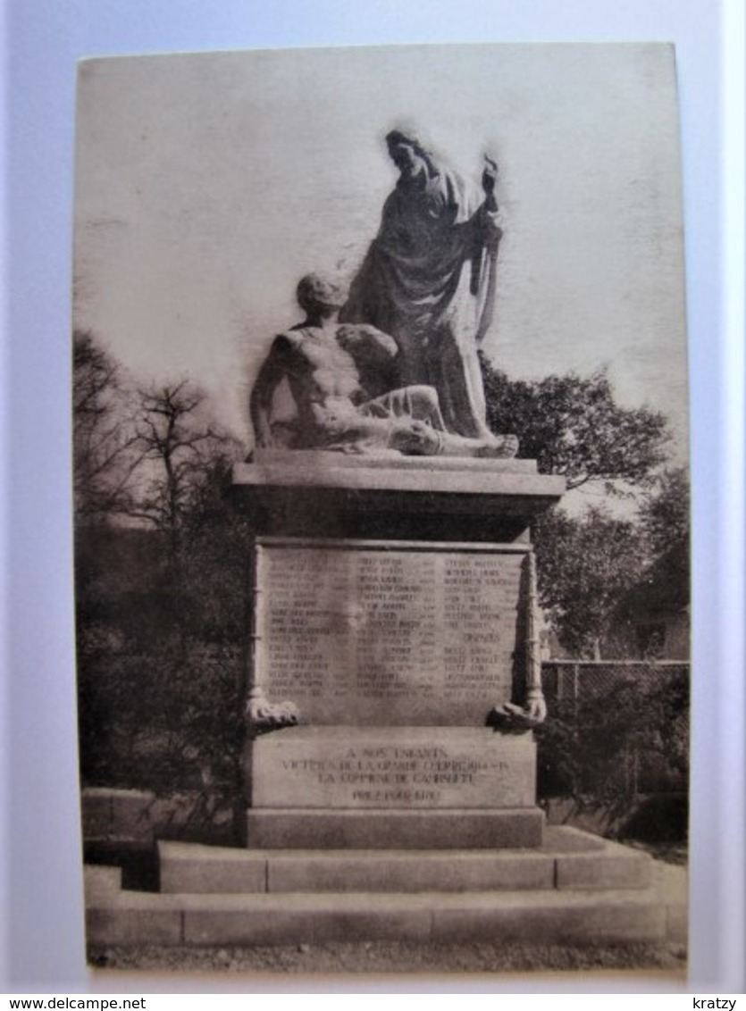 FRANCE - BAS RHIN - GAMBSHEIM - Le Monument Aux Morts - Gambsheim