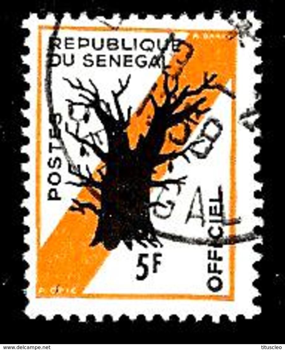 SENEGAL S10° 5f Orange Et Noir Baobab (10% De La Cote + 0,15) - Senegal (1960-...)
