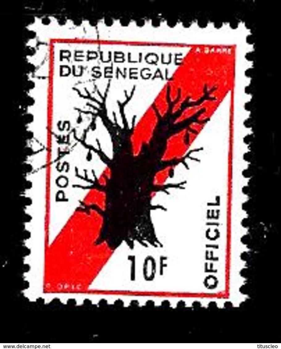 SENEGAL S11° 10f Rouge Et Noir Baobab (10% De La Cote + 0,15) - Senegal (1960-...)