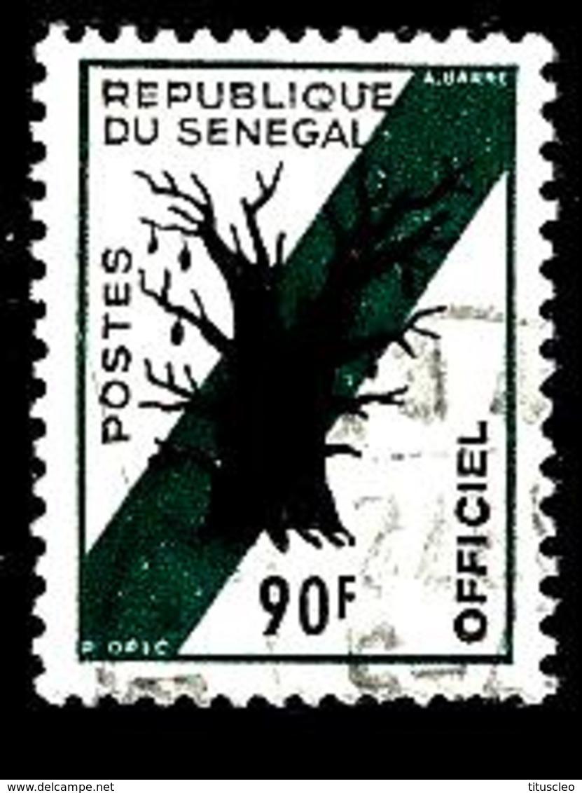 SENEGAL S15° 90f Vert-bleu Et Noir Baobab (10% De La Cote + 0,15) - Senegal (1960-...)