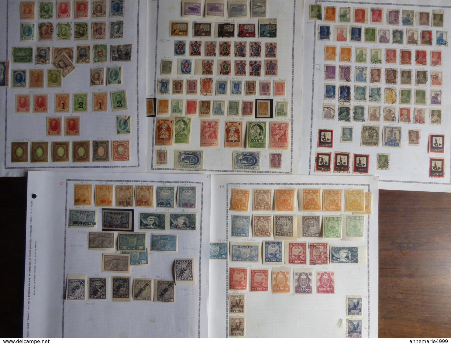 Russie URSS Collection Importante, Voir Scans - Russie & URSS