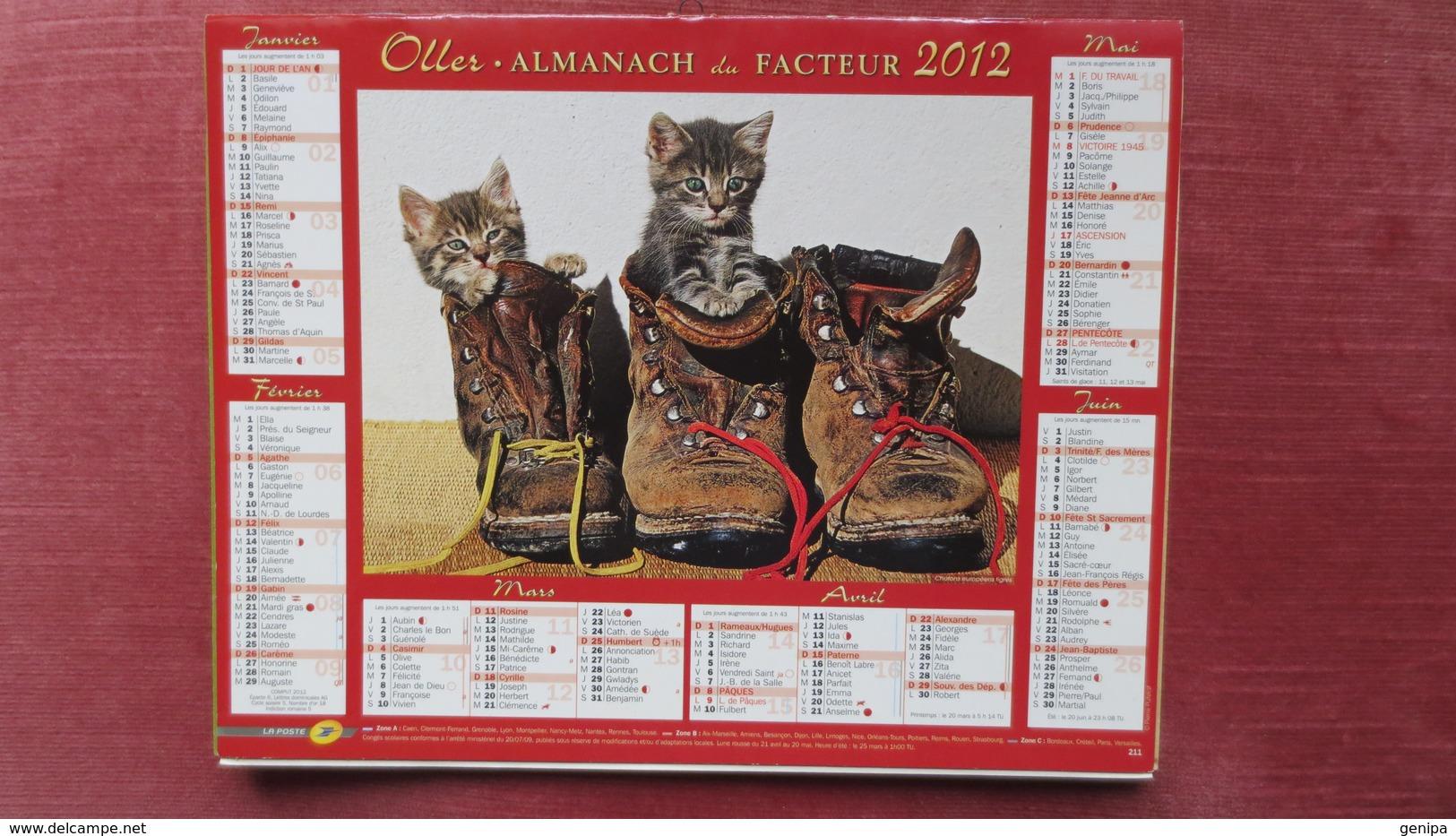 ALMANACH DU FACTEUR 2012 - Groot Formaat: 2001-...