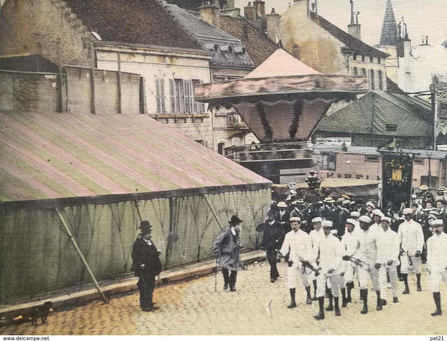 SEMUR EN AUXOIS 1914: Maison BELIN ,BOURGOGNE QUIQUINA, CALENDRIER 1914 + PHOTO RARISSIME - Publicités