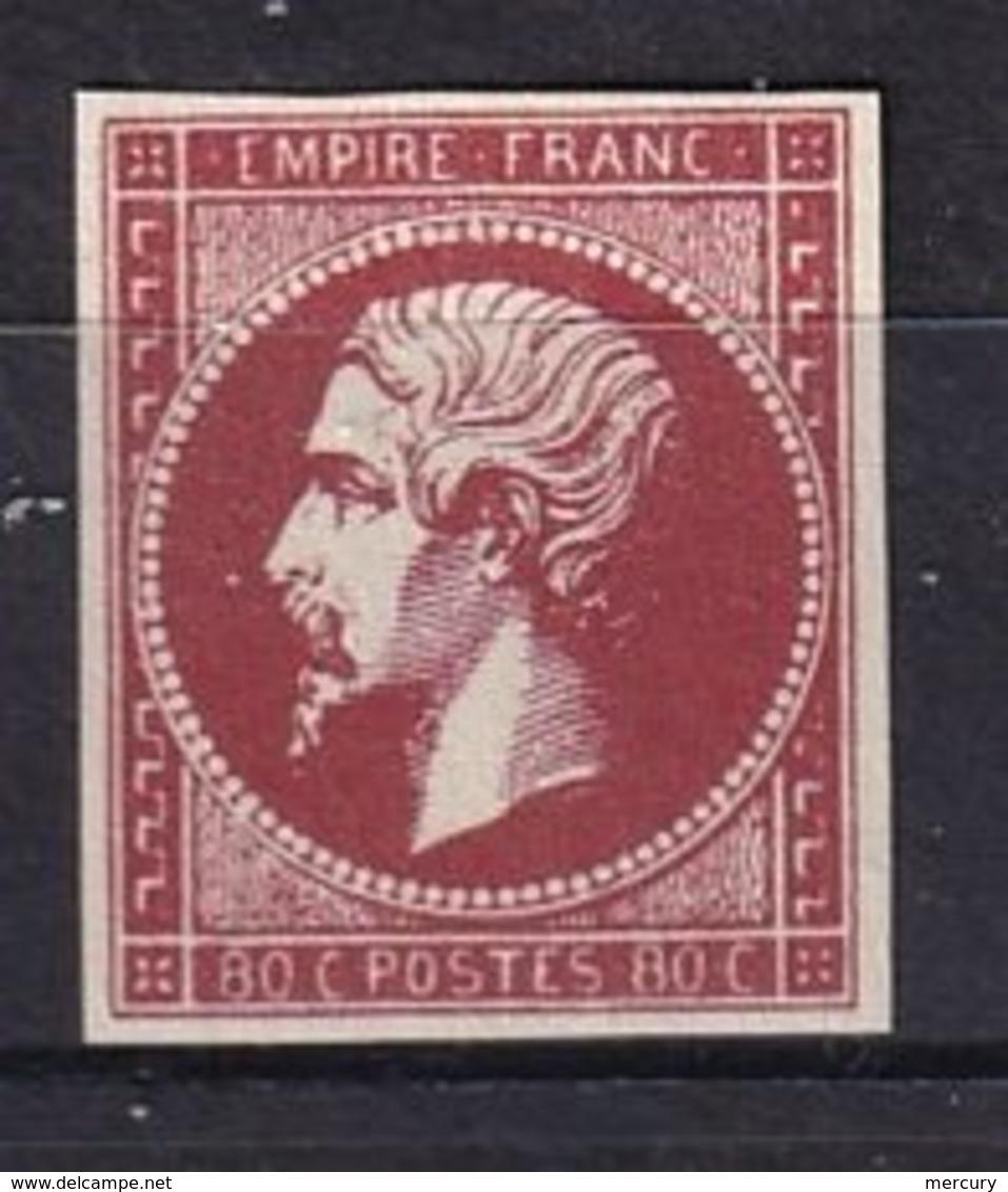 FRANCE - 80 C. Carmin  Neuf FAUX - 1853-1860 Napoléon III