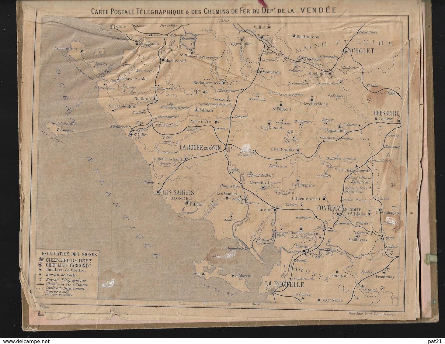 "Almanach Des Postes 1892, ""le Photographe Ambulant"", Illustration ARISTIDE BOULINEAU Cartonnage TB - Calendari"
