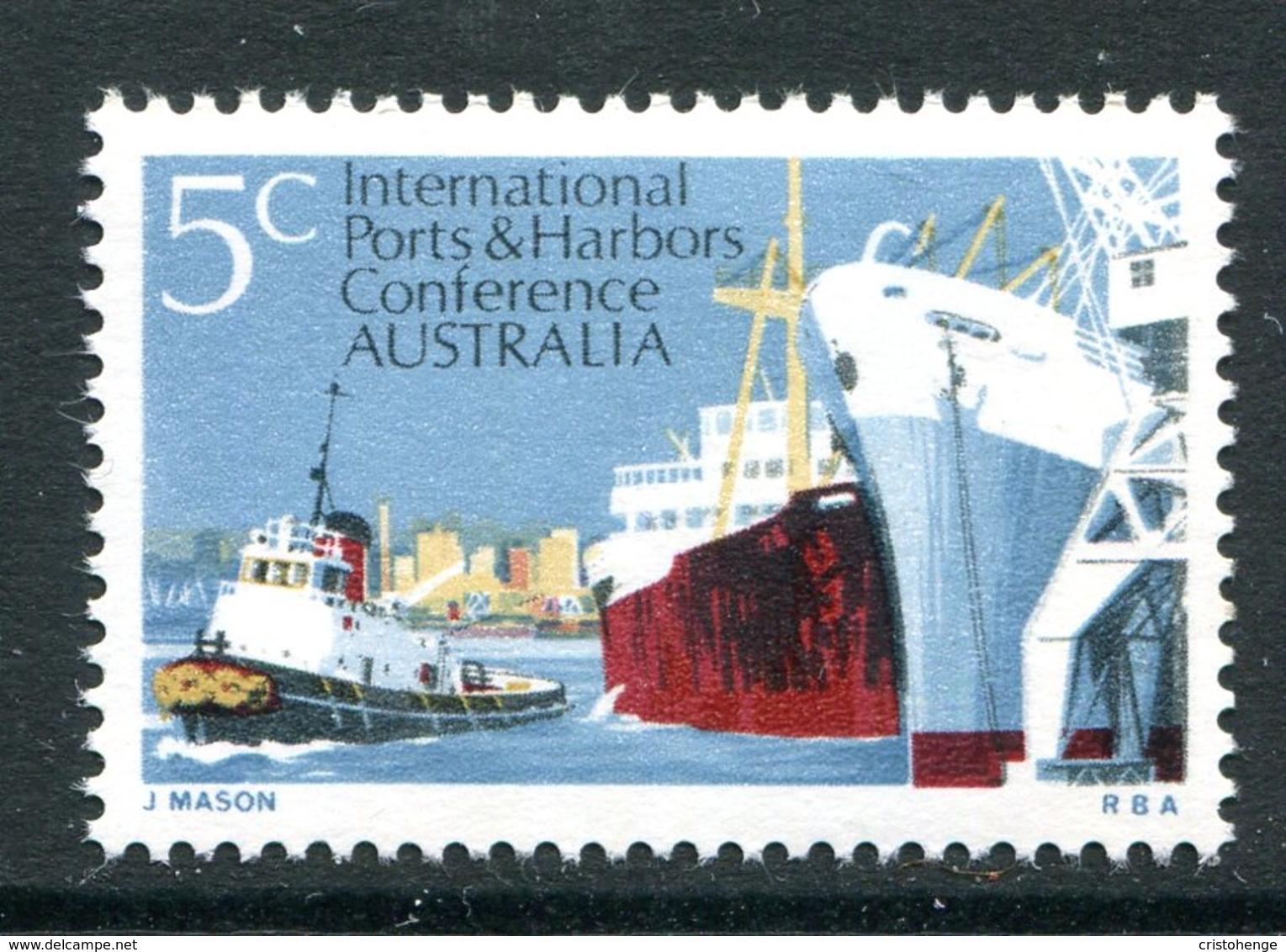 Australia 1969 Sixth Biennial Conference Of International Ports & Harbours MNH (SG 438) - 1966-79 Elizabeth II