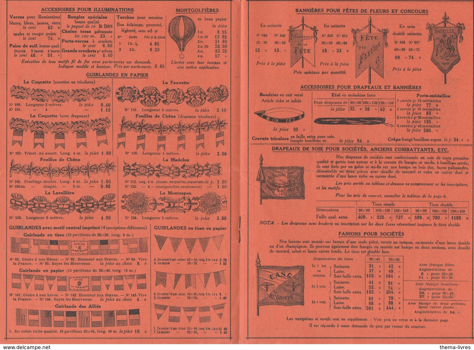(jouets) Paris 3e : Rue De Turbigo : Catalogue JUST  Articles De Fêtes   1926 (PPP11144) - Publicités