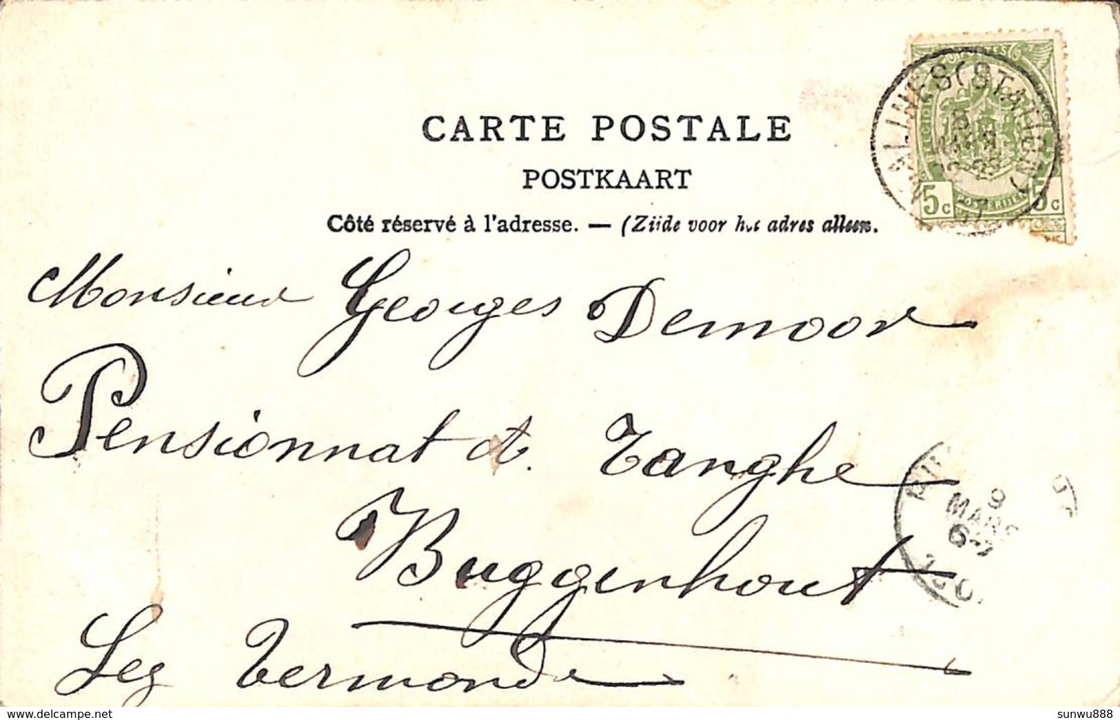 Château De Battel (zeldzaam, 1907) - Malines