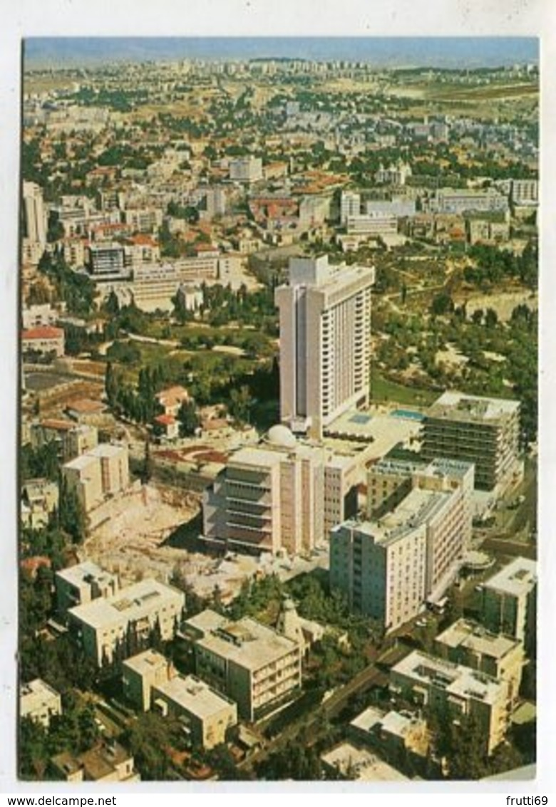 ISRAEL - AK 356912 Jerusalem - Independence Park And Paris Square - Israël