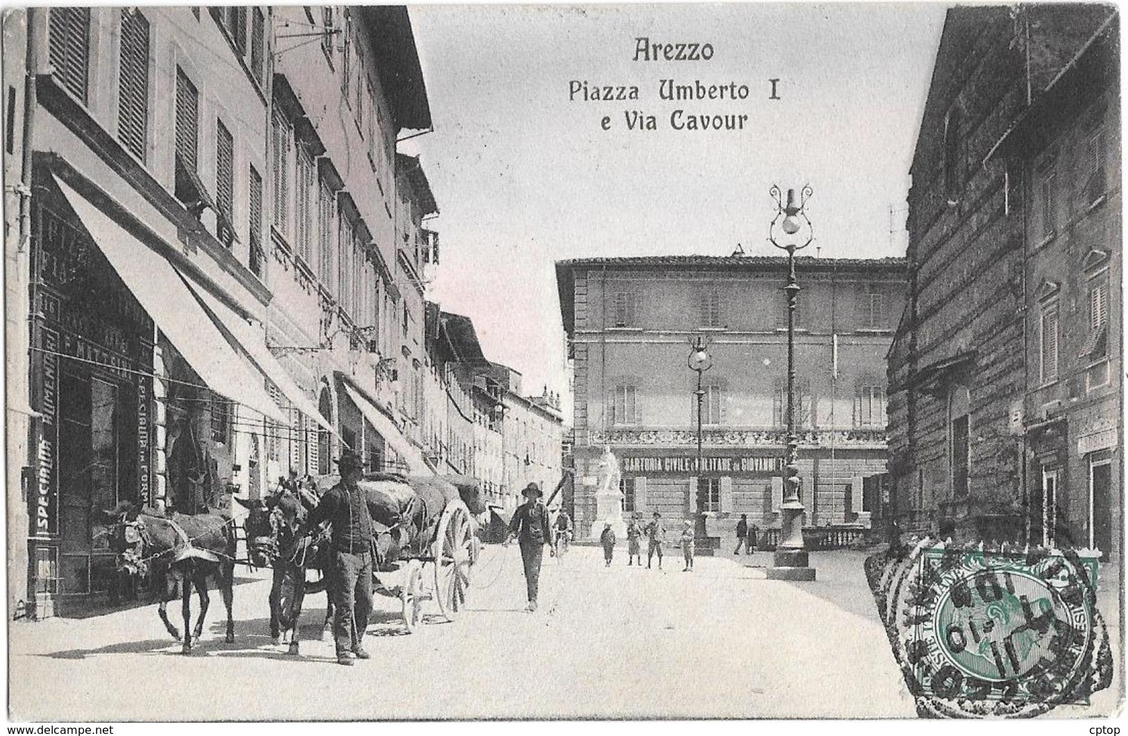 Arezzo , Via Cavour - Italia