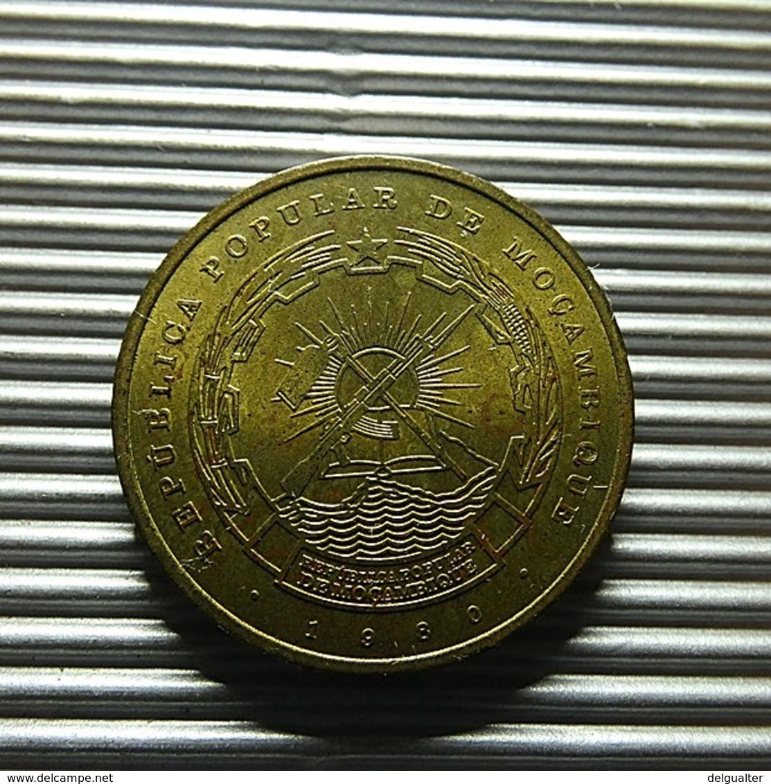 Mozambique 1 Metical 1980 - Mozambique