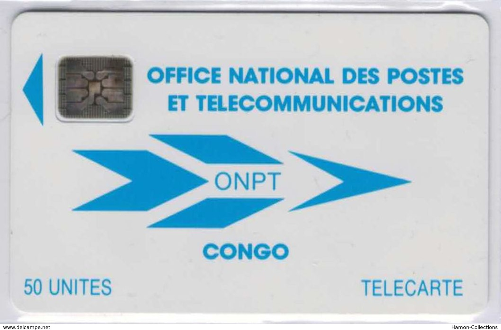 Congo - ONPT 50 U Bleue - SC4 An S/E ¤6 - 40498 Impacts - Voir Scans - Congo