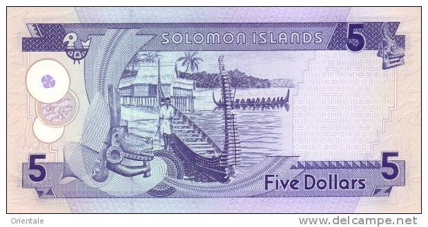 SOLOMON ISLANDS P. 19 5 D 1997 UNC - Solomon Islands