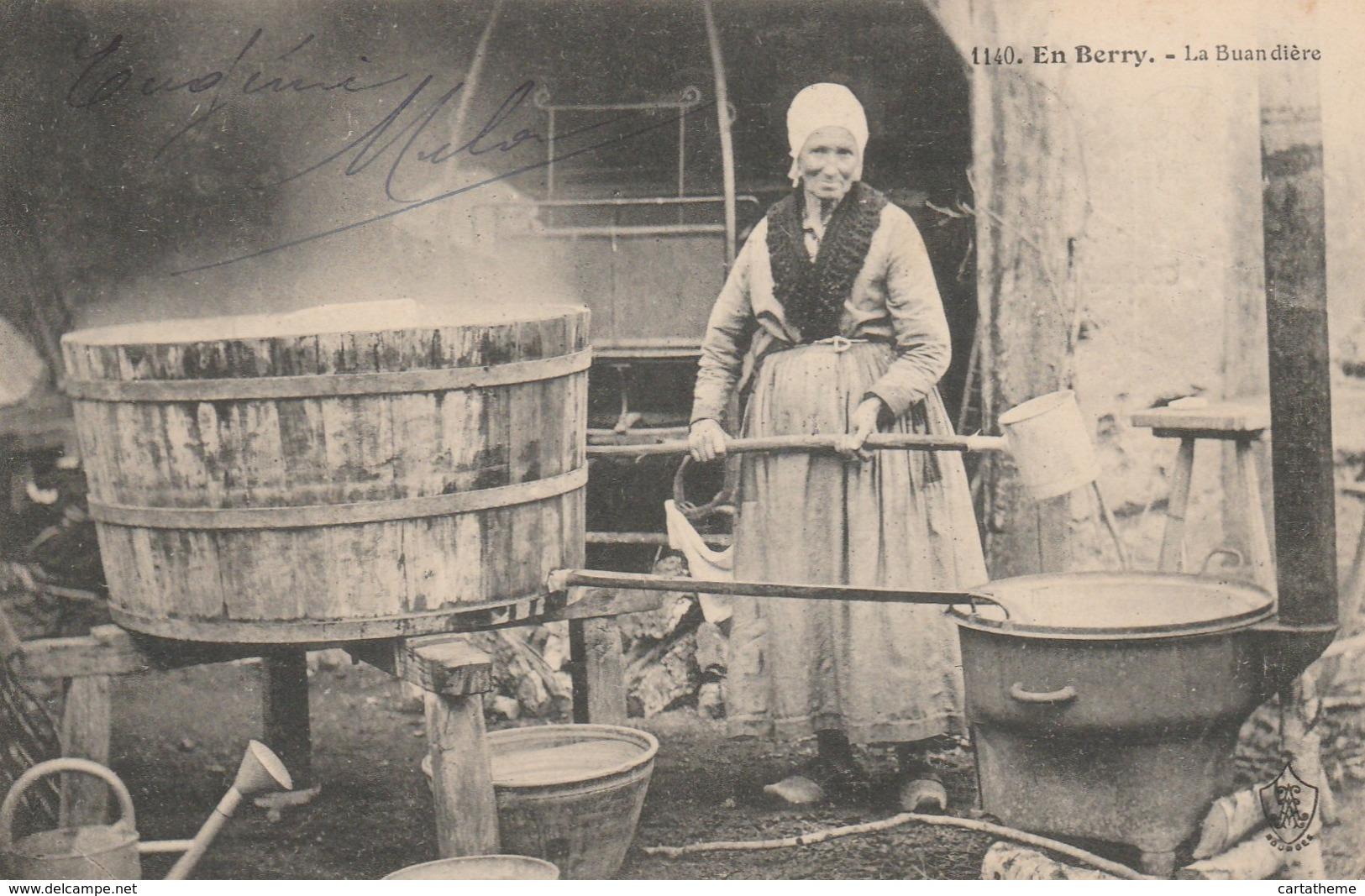 CPA - La Buandière - Berry - 1909 TBE - Centre-Val De Loire