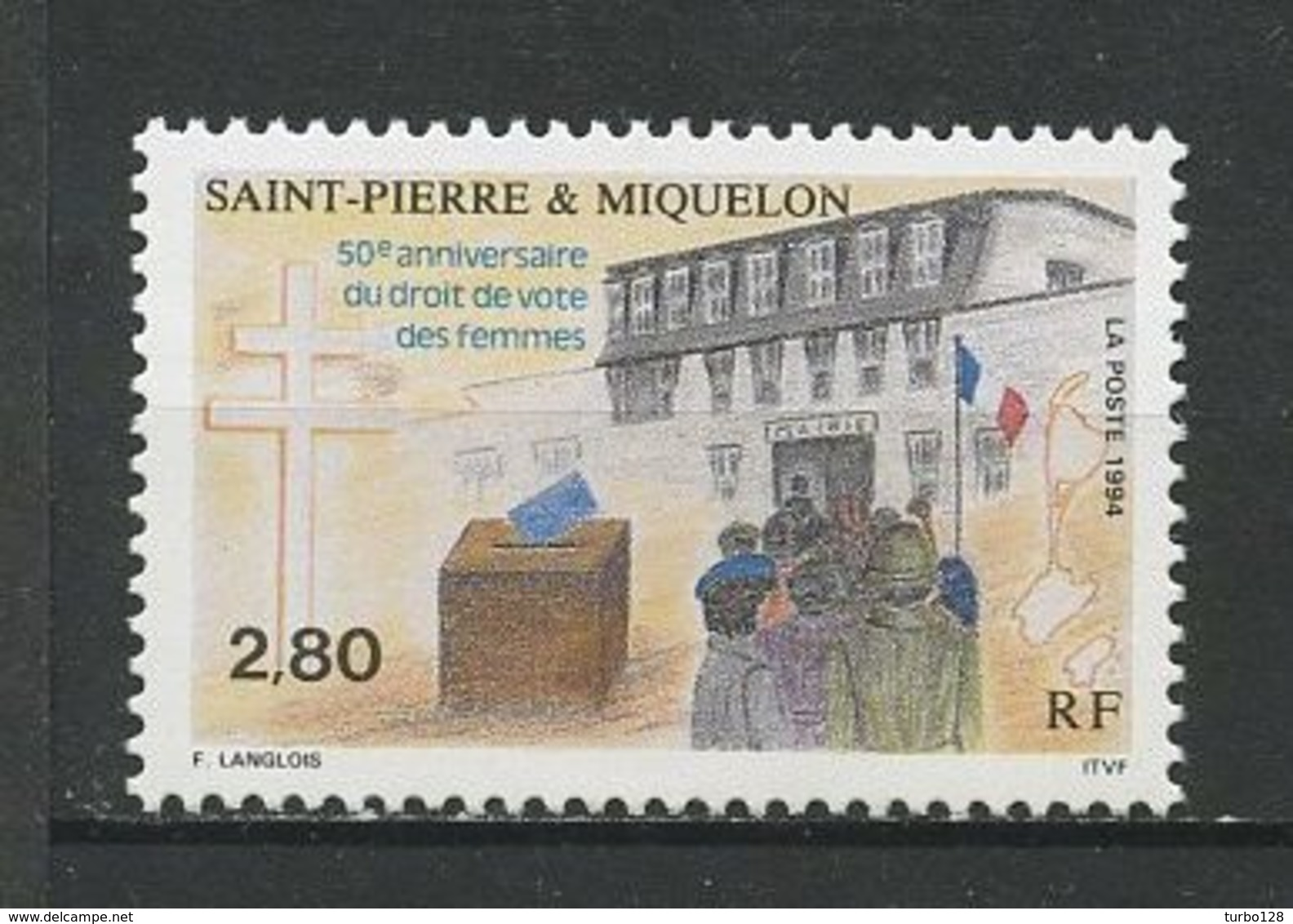 SPM MIQUELON 1994 N° 597 ** Neuf MNH Superbe C 1.65 € Droit De Vote Des Femmes Women - St.Pedro Y Miquelon