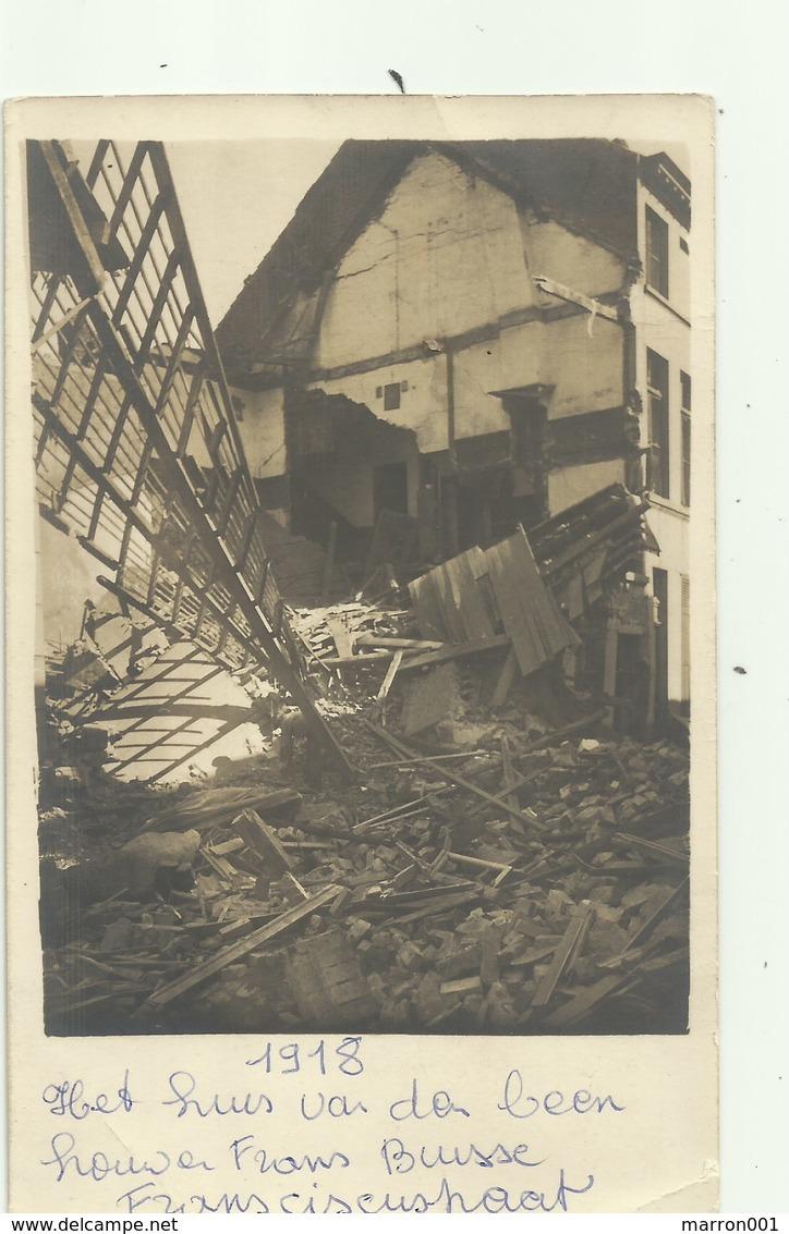 Oostende - Oorlog 21/3/1918 - Huis Van Beenhouwer Frans Buisse - Oostende