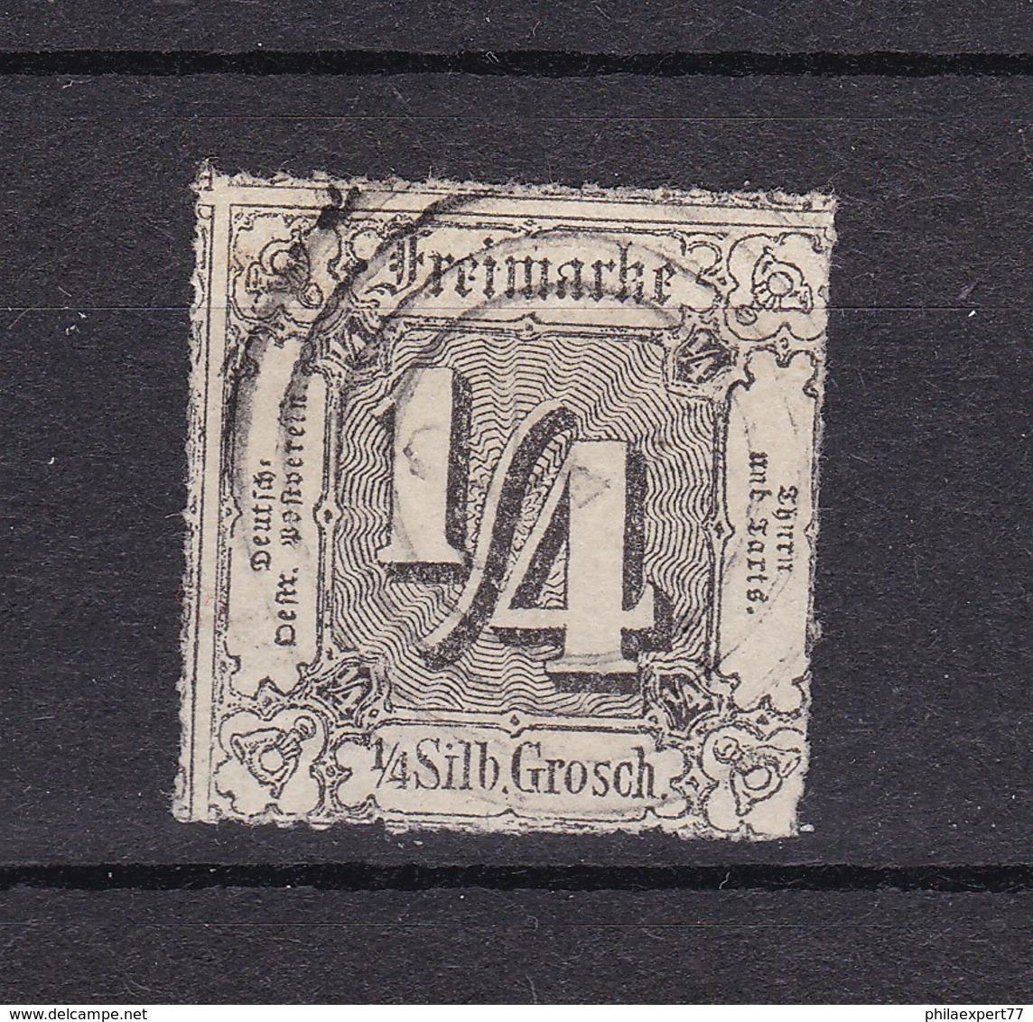 Thurn Und Taxis - 1865 - Michel Nr. 35 - 500 Euro - Thurn Und Taxis