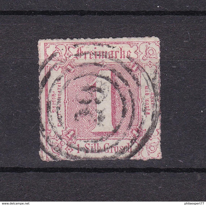 Thurn Und Taxis - 1865 - Michel Nr. 38 - Thurn Und Taxis