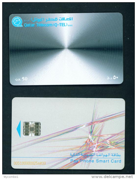 QATAR - Chip Phonecard  (stock Scan) - Qatar