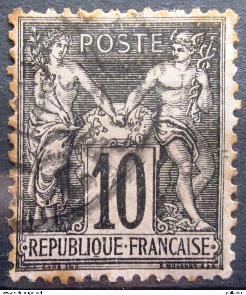 FRANCE              N° 103              OBLITERE - 1898-1900 Sage (Type III)