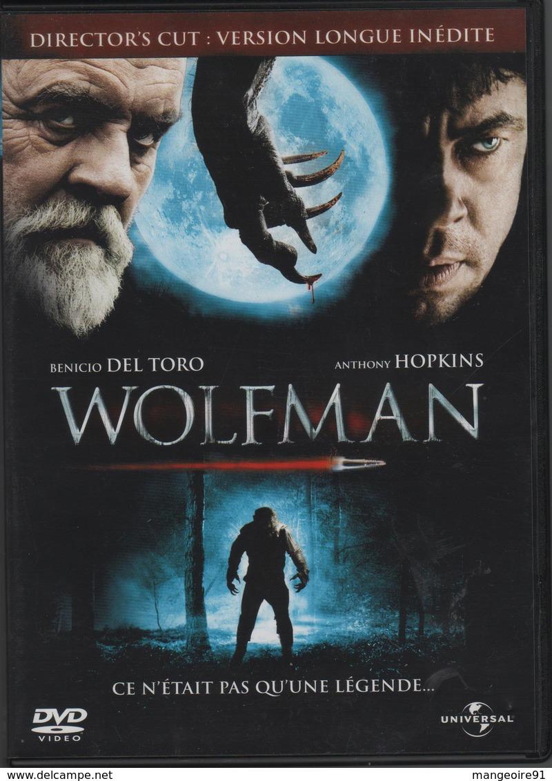 "DVD Film ""WOLFMAN"" BENICIO DEL TORO / ANTHONY HOPKINS - Policiers"