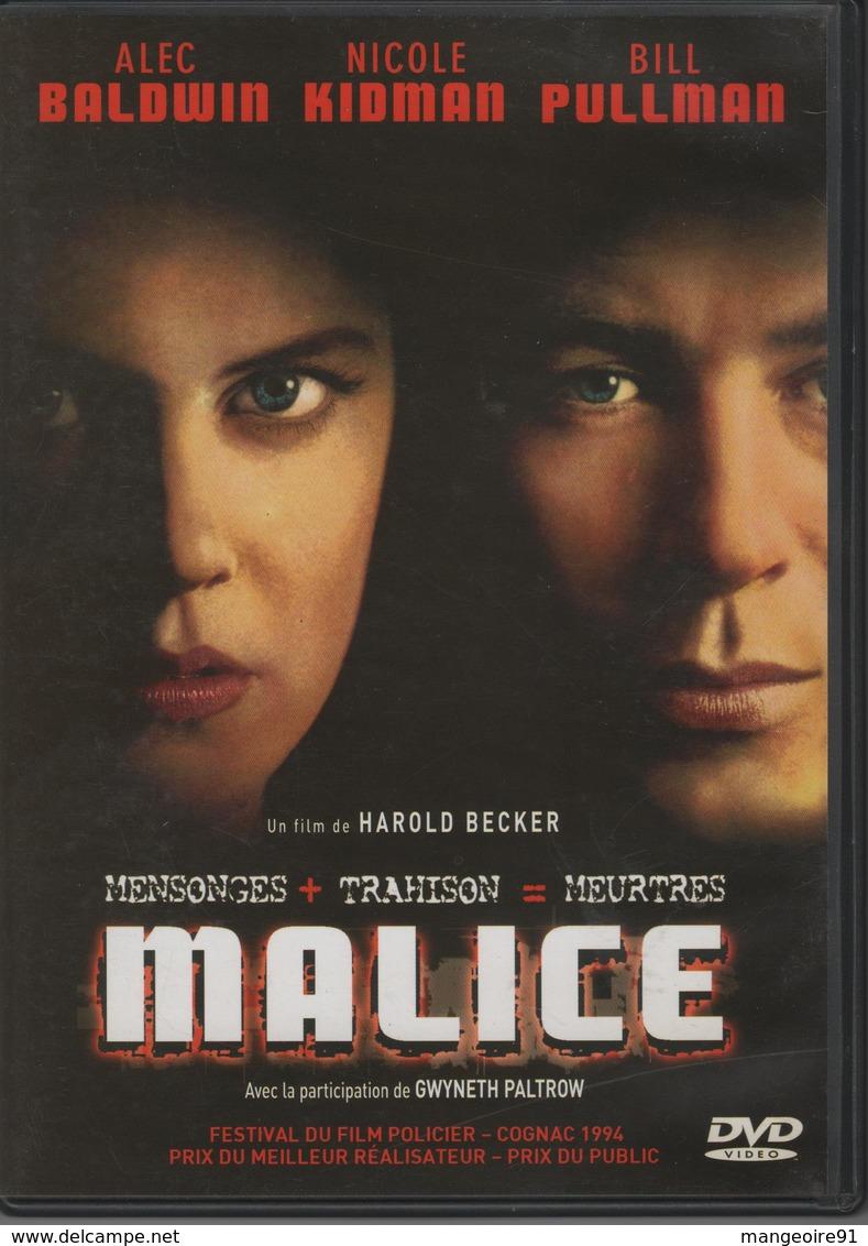 "DVD 1 FILM ""malice"" ALEC BALDWIN / NICOLE KIDMAN / BILL PULLMAN - Policiers"