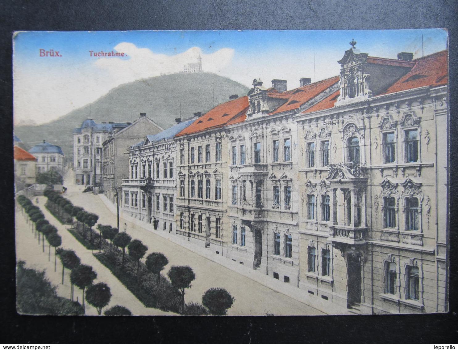 AK BRÜX MOST Tuchrahme Ca.1910  // D*39208 - Sudeten