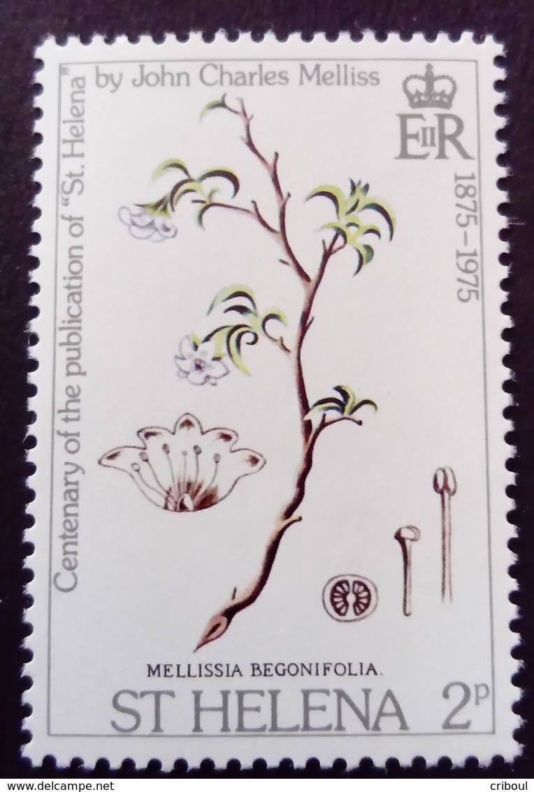 Sainte Hélène St Helena 1975 Fleur Flower Yvert 275 ** MNH - St. Helena