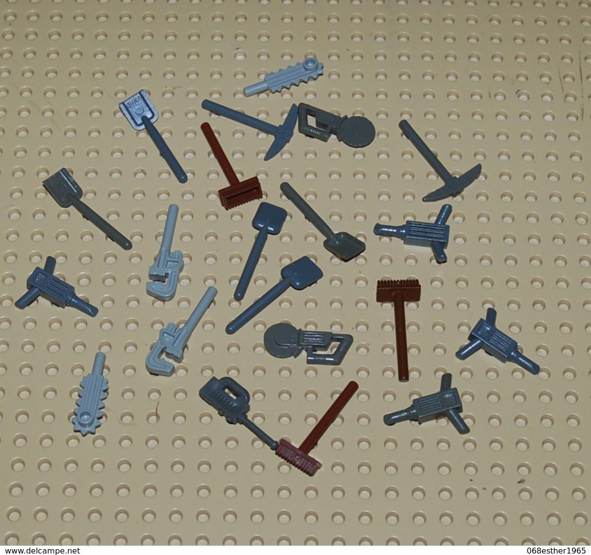Lego Lot D'outils Pour Personnage - Lego Technic