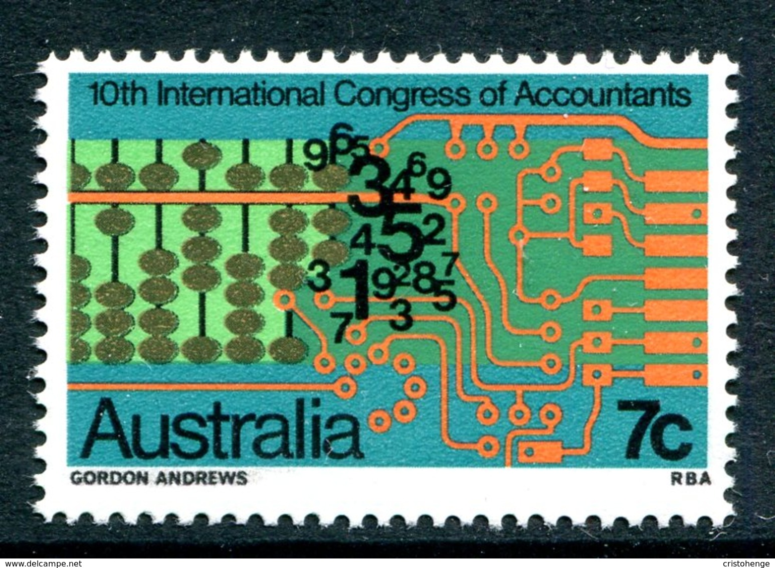 Australia 1972 Tenth International Congress Of Accountants MNH (SG 522) - 1966-79 Elizabeth II