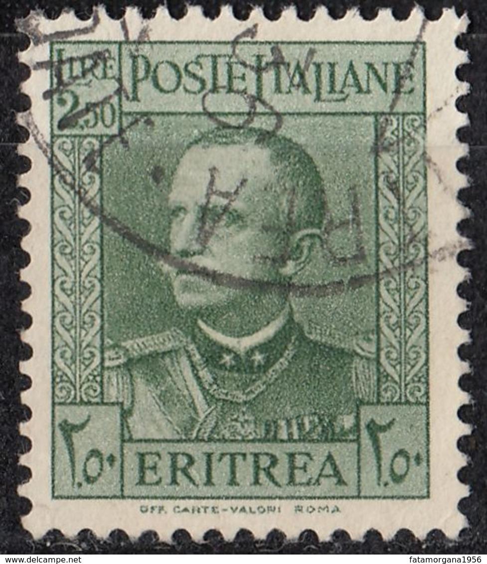 ERITREA (colonia Italiana) - 1931 -  Yvert 194 Usato. - Eritrea