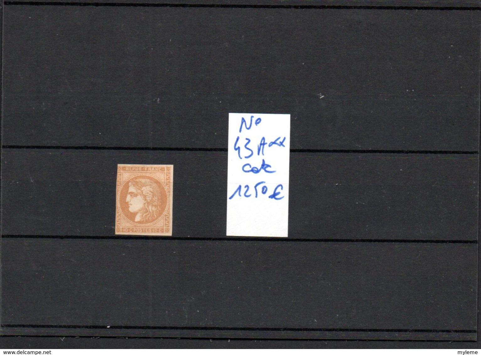 Carton Dont France N° 43A, 50, 53, 54 + 55** +  Préos 26 Et 30 ** + Colis Postaux + Coins Datés, Séries ...Voir Comm !!! - Timbres
