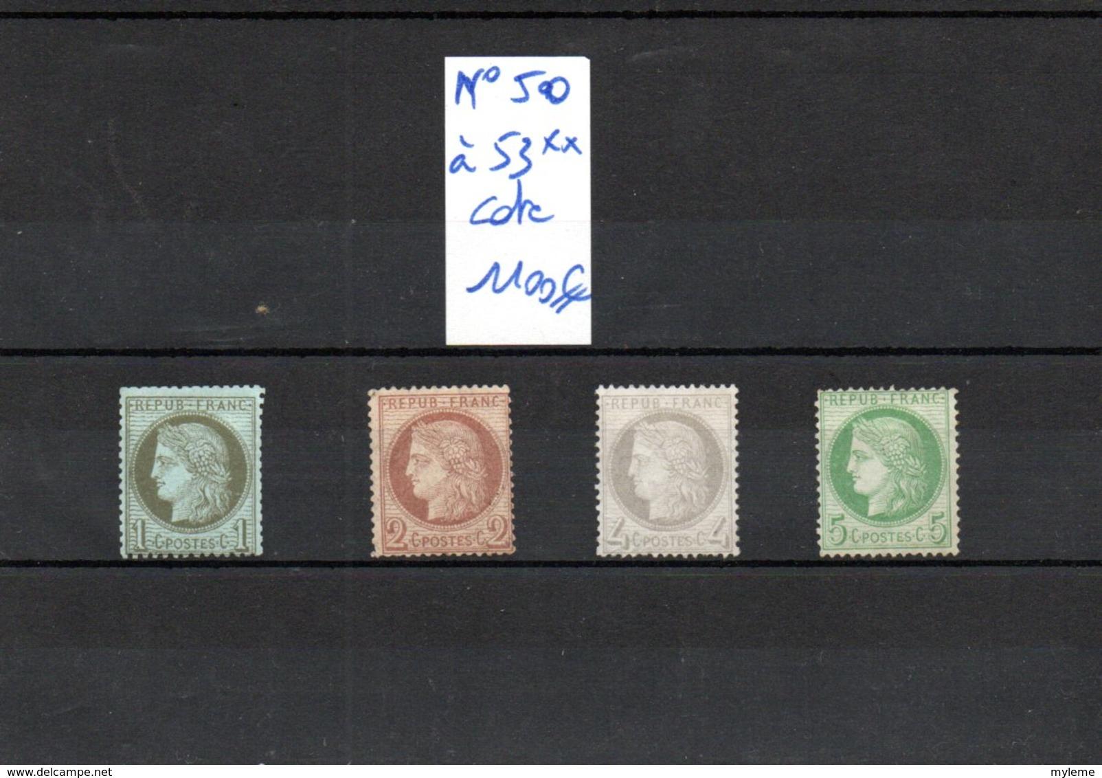 Carton Dont France N° 43A, 50, 53, 54 + 55** +  Préos 26 Et 30 ** + Colis Postaux + Coins Datés, Séries ...Voir Comm !!! - Stamps