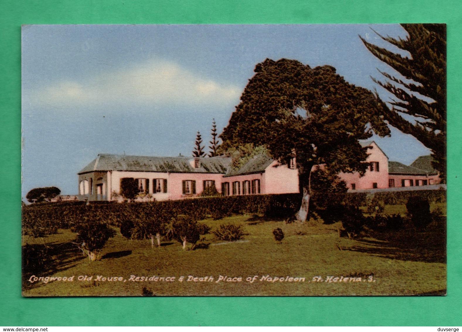 Afrique Africa Sainte Helene St Helena Longwood  Old House Residence Of Napoleon ( Format 9cm X 14cm ) - Sant'Elena