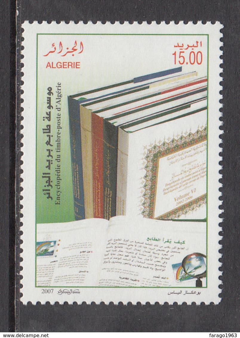 2007 Algeria Algerie  Stamp Encyclopedia Complete Set Of 1 MNH - Algerien (1962-...)