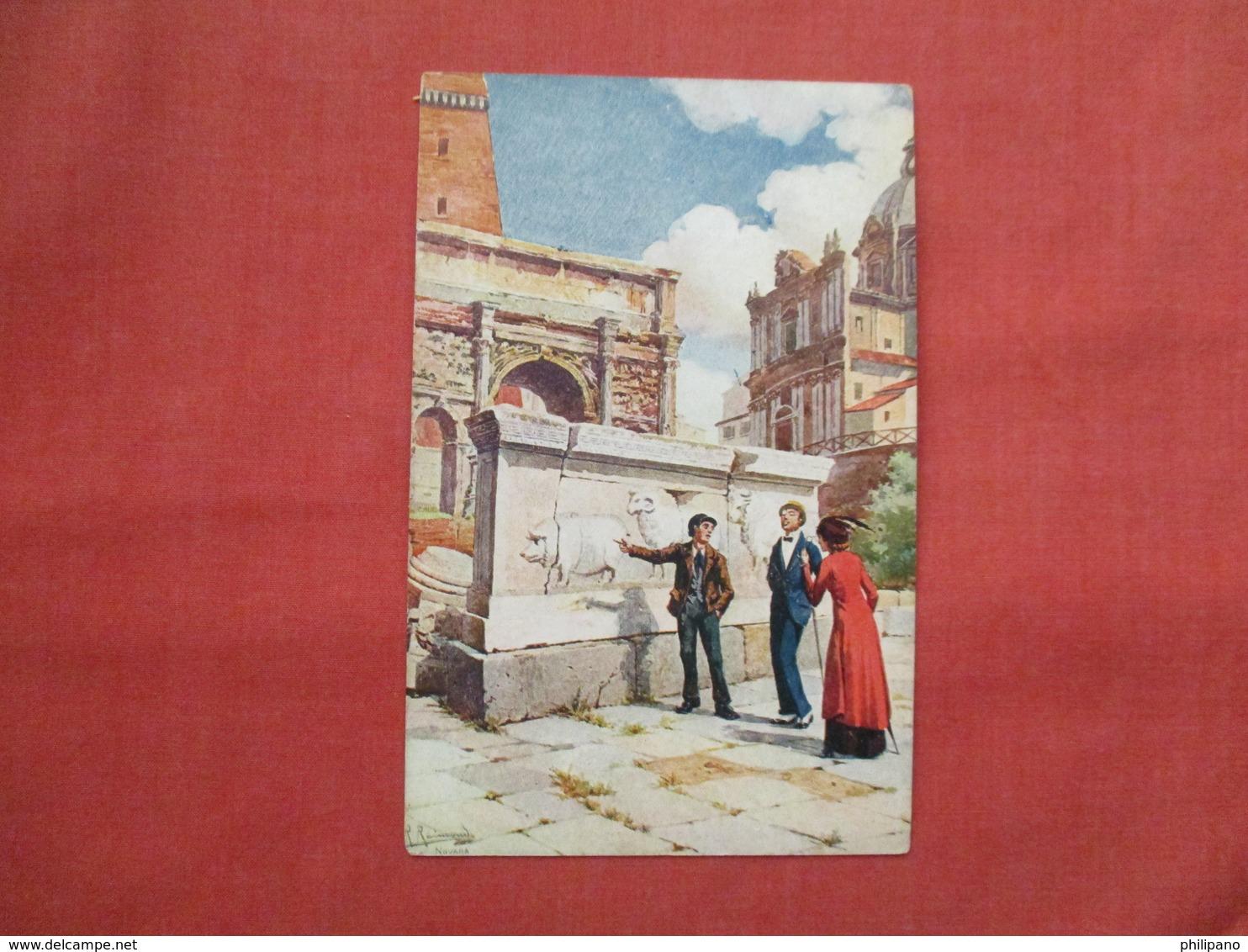 Signed Artist  Roma Ref  3467 - Europa