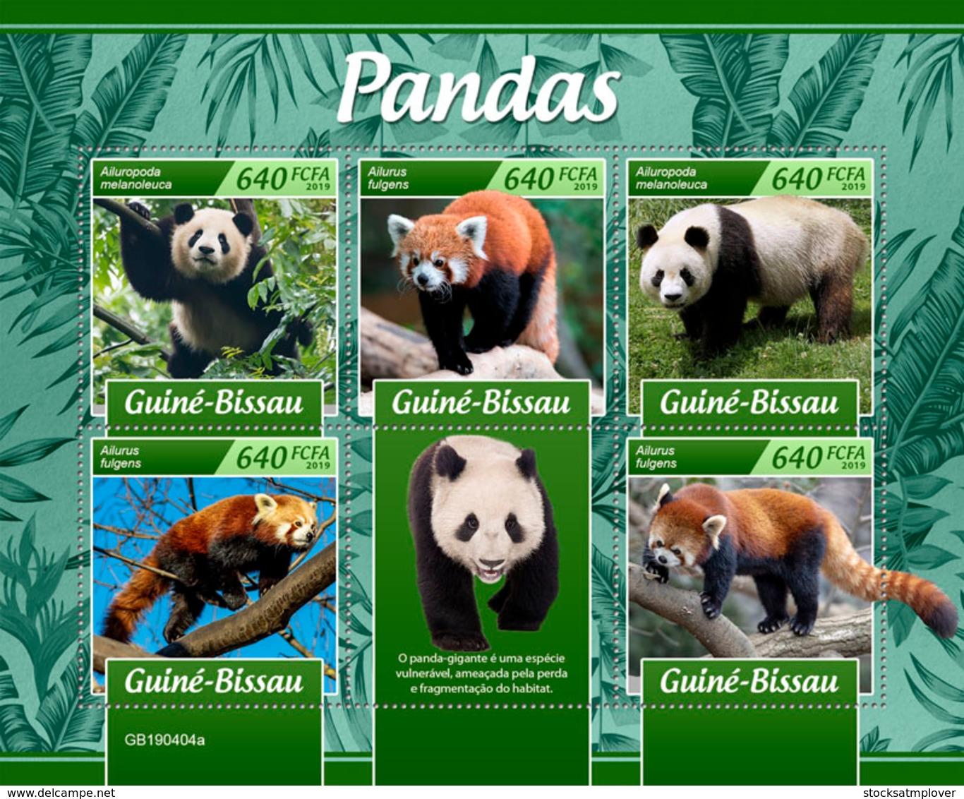 Guinea  Bissau   2019   Fauna  Pandas   S201904 - Guinea-Bissau