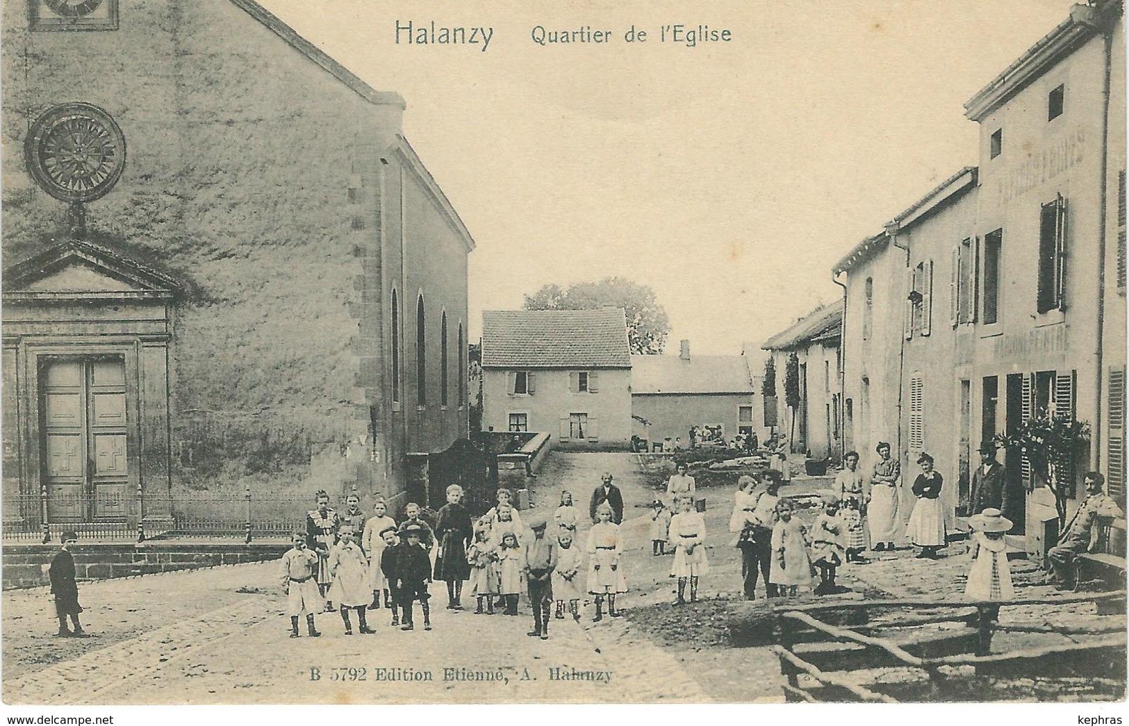 HALANZY : Quartier De L'Eglise - Aubange