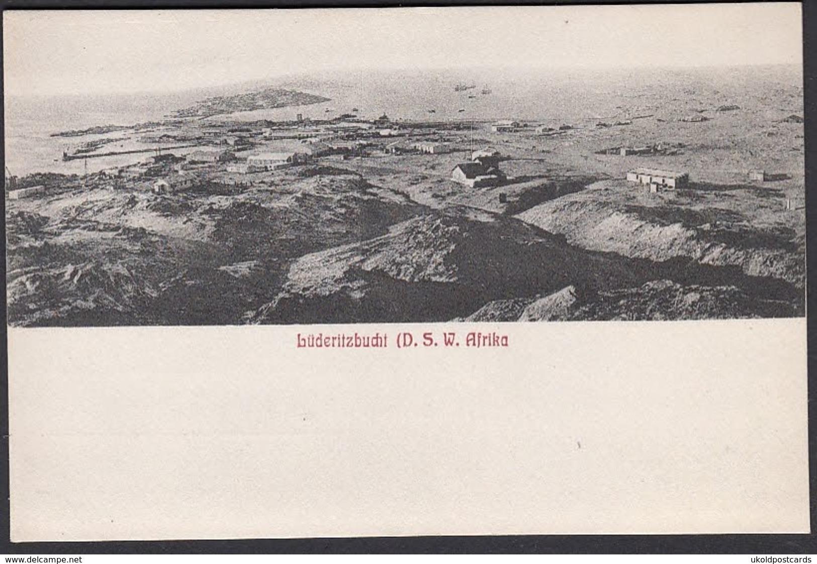 AK - NAMIBIE, ( Deutsch-Sûd West Afrika ) LUDERITZBUCHT,   D-S-W Afrika. - Namibia