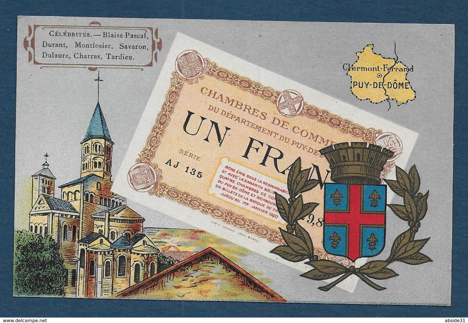 Billet De 1 Franc - Chambres De Commerce Du Puy De Dome - France