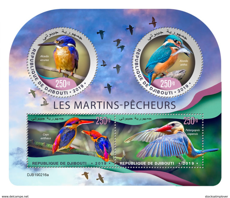 Djibouti 2019   Fauna  Kingfishers  S201904 - Djibouti (1977-...)