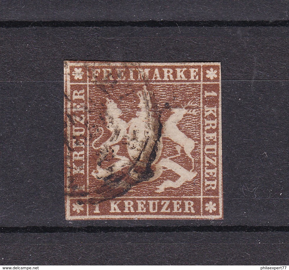 Wuerttemberg - 1857 - Michel Nr. 6 - 100 Euro - Wuerttemberg