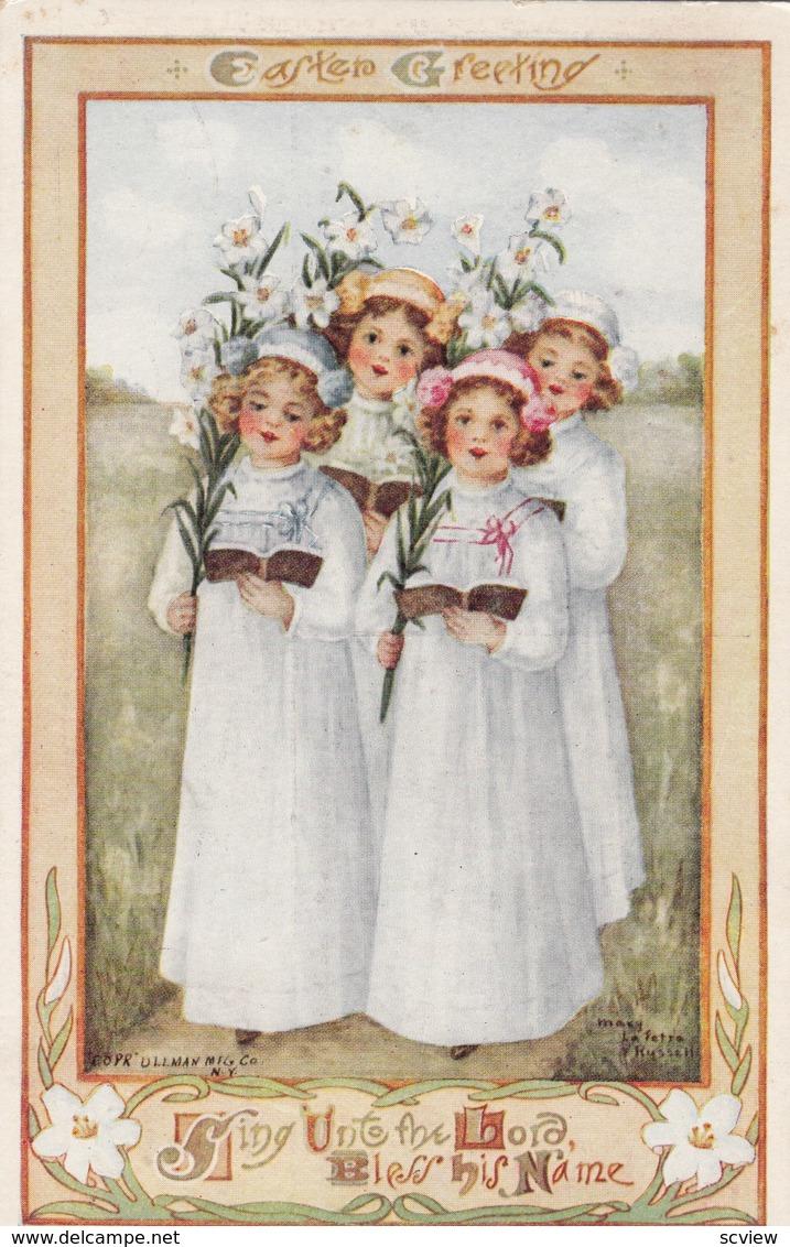 EASTER ; Girl Choir , 1911 - Pâques