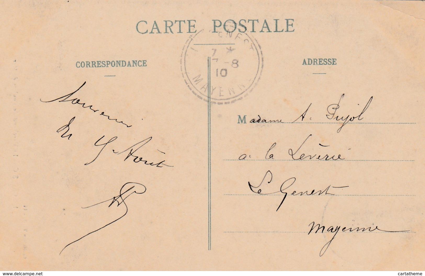 CPA - Le Marchand De Poulets De Mer - Le Croisic 1910 TBE - Le Croisic